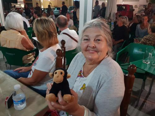 Dean´s Mum & Kevin the Monkey