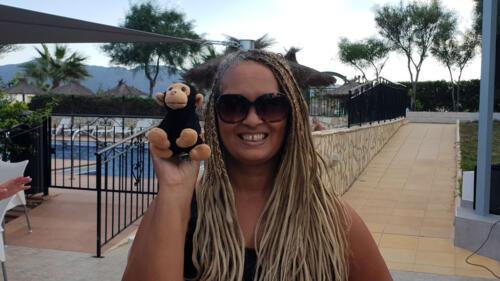 Nola & Kevin the Monkey