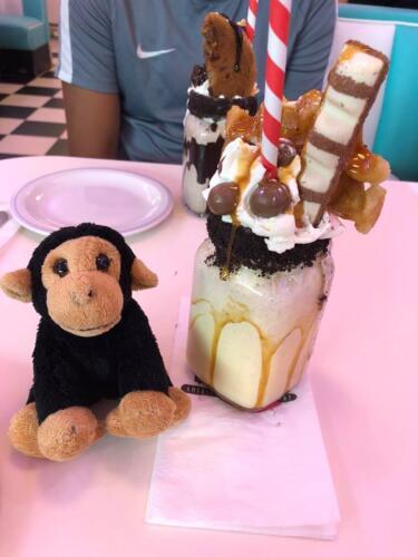 Kevin & his ice cream