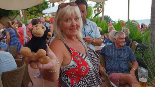 Carol & Kevin the Monkey