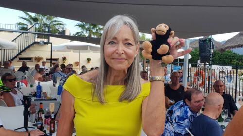 Lady & Kevin the Monkey